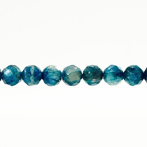 ラウンドカット カイヤナイト 6mm 一連 連売り 天然石 パワーストーン ハンドメイドパーツ アクセサリー用に