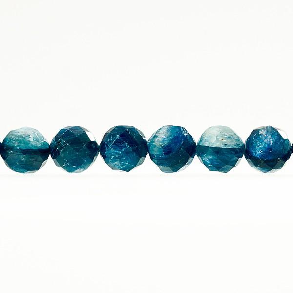 ラウンドカット カイヤナイト 8mm 一連 連売り 天然石 パワーストーン ハンドメイドパーツ アクセサリー用に