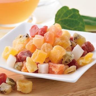 7種のこだわりドライフルーツミックス ドライフルーツ いちご マンゴー キウイ パイン パパイヤ りんご ココナッツ ティーライフ