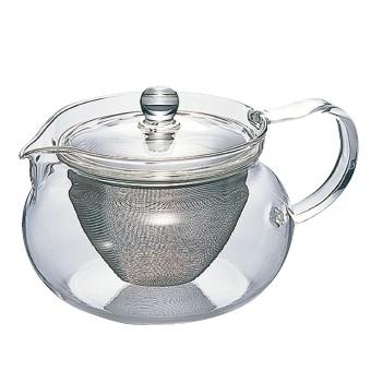 HARIO(ハリオ) 耐熱茶茶急須丸 450ml ポット ティーポット 急須 耐熱ガラス ガラス製 緑茶 ハリオ HARIO ティーライフ
