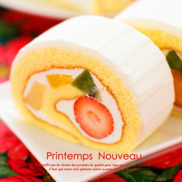 母の日 ギフト 送料無料 プランタンヌーボー TVで紹介されたロールケーキ いちご ストロベリー 誕生日 プレゼント スイーツ フルーツ 人