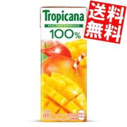 【送料無料】キリン トロピカーナ100% マンゴーブレンド 250ml紙パック 24本入 [果汁100%][のしOK]big_dr