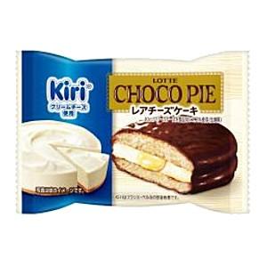【送料無料】ロッテ チョコパイ レアチーズケーキ 個売りタイプ 6個入