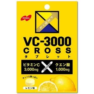 【送料無料】ノーベル 25gVC-3000 CROSS(クロス) タブレット レモン 6袋入 (VC3000)