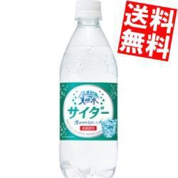【送料無料】サントリー 天然水サイダー 490mlペットボトル 24本入(サントリー天然水サイダー)big_dr