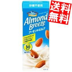 【送料無料】ポッカサッポロ アーモンドブリーズ 砂糖不使用 200ml紙パック 24本入 (アーモンドミルク) [のしOK]big_dr