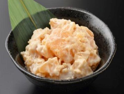 3種のチーズ数の子入(燻製風味)110g 新製品 ワイン おつまみ 北海道 函館加工 熟成 クリーム チェダー モッツァレラチーズ入り 三栄水