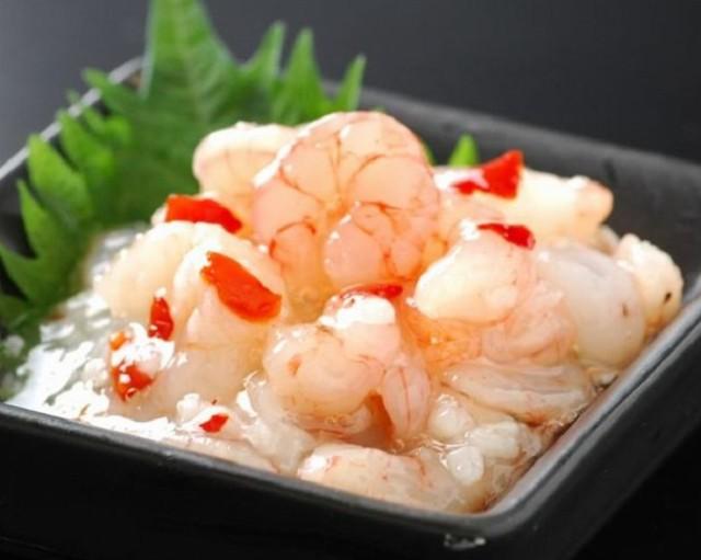 甘えび塩辛200g ぷりぷり 北海道 函館加工 冷凍 おつまみ 米 酒 お土産 おせち 海産物 人気