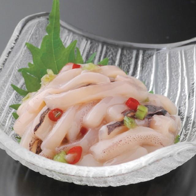 刺身いかわさび 180g袋入 北海道産イカ使用 函館加工 激辛 おかず 惣菜 おつまみ 珍味 米 酒