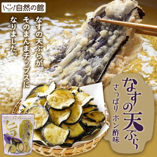 茄子の天ぷら 50g×4個セット なす チップス ナス スナック お菓子 おやつ 野菜 おつまみ 家飲み 宅飲み 訳あり 送料無料