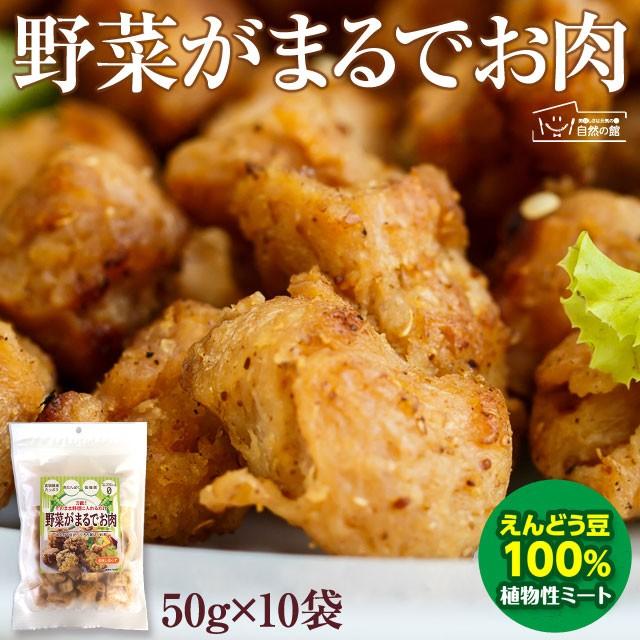 【お徳用】 野菜がまるでお肉 50g×10袋 えんどう豆から作ったお肉 植物性ミート ダイエット 糖質オフ ヘルシー ベジタリアン