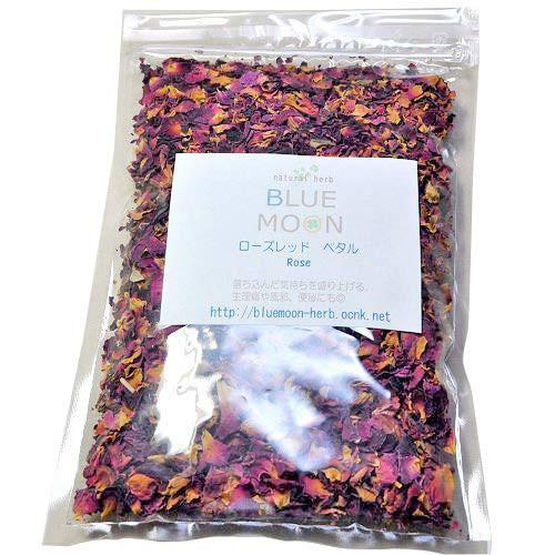 ローズレッド ペタル ハーブティー 30g バラの花びらのハーブ おいしい お茶 ドリンク 送料無料