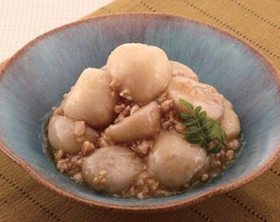 【送料無料】【メール便】里芋の鶏そぼろあん 1kg (nh831562)
