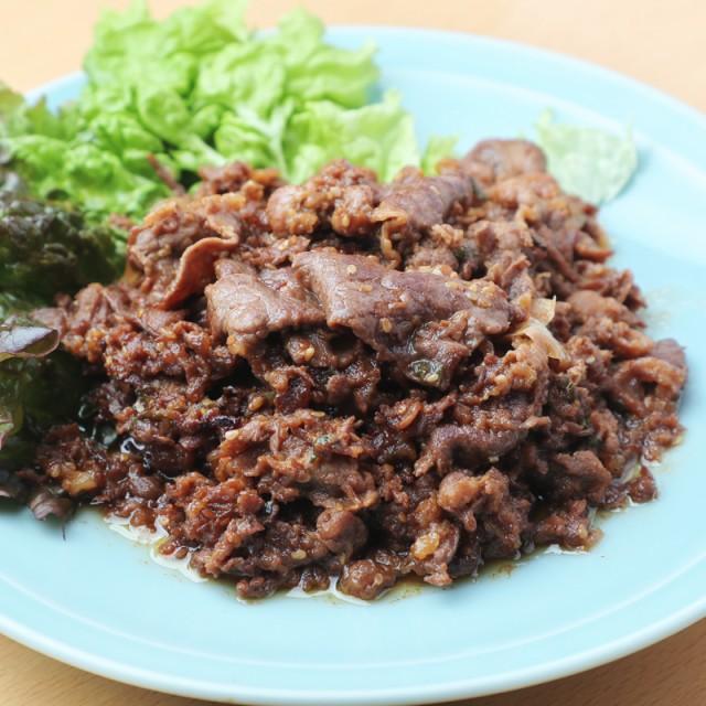 プルコギ 500g(味付き) (pr)(77999) 炒めるだけの簡単調理