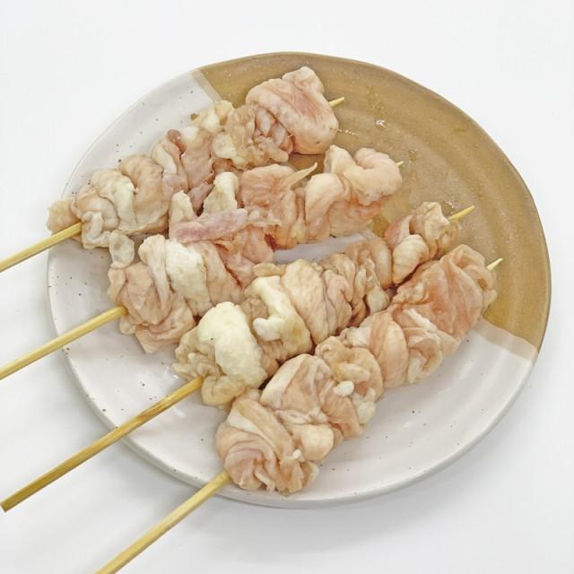 鳥皮ぐるぐる巻串 40g×20本 国産鶏使用 (pr)(41544)オーブンなどで焼くだけの簡単調理 バーベキュー BBQに最適【冷凍 焼き鳥 焼鳥 やき