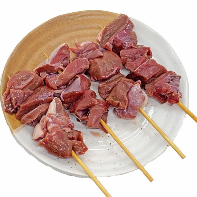 豚ハツ串 40g×20本 国産豚 (15cm丸串)(pr)(45720) 肉 (やきとん)
