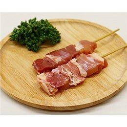 鳥もも串 40g×20本 焼き鳥 ブラジル産鶏 (15cm丸串)(pr)(40120) 肉 (冷凍 焼き鳥 焼鳥 やきとり)