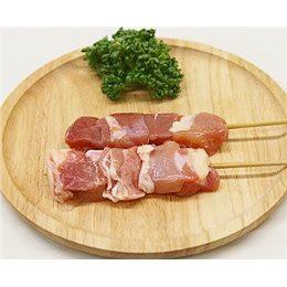 鳥もも串 40g×20本 焼き鳥 国産鶏 (15cm丸串)(pr)(40121) 肉 (冷凍 焼き鳥 焼鳥 やきとり)