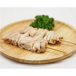 鳥皮串 40g×10本 焼き鳥 国産鶏 (15cm丸串)(pr)(41620) 肉 (冷凍 焼き鳥 焼鳥 やきとり)