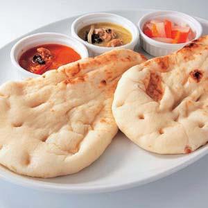 ナン (大)100g×5枚 長期保存 便利な冷凍できるパン【冷凍パン】【朝食】(nh151266)