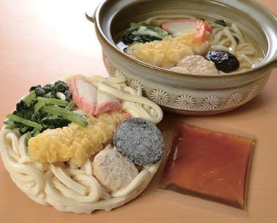 具付麺 えび天鍋焼うどんセット×3パック 1食(300g 内、麺200g)(nh723837)