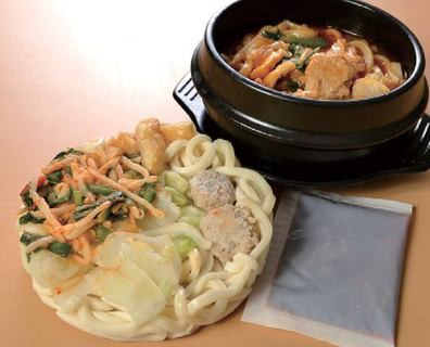具付麺 チゲうどんセット×3パック 1食(354g 内、麺200g)(nh139051)