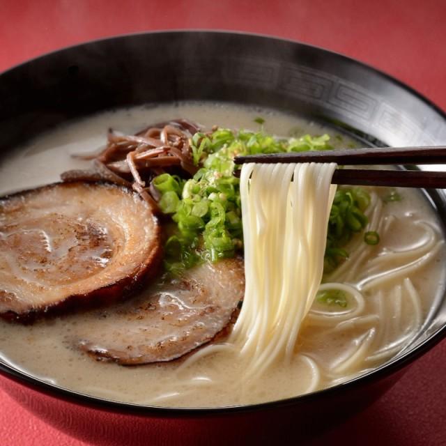 【送料無料】【メール便】乾麺(ノンフライ、ノンスチーム製法) 146g(73g×2束)×6パック 合計12束 (rns404424)とんこつラーメンスープと