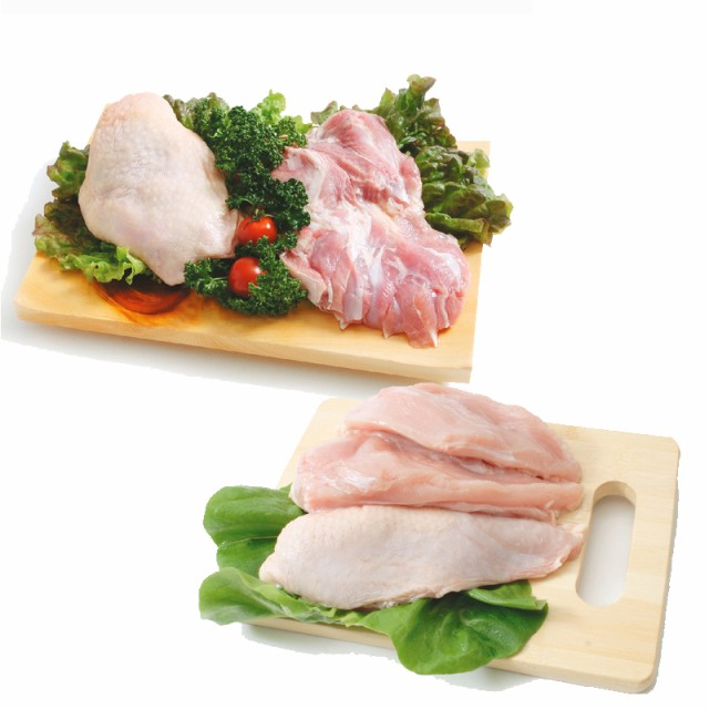 【送料無料】阿波尾鶏 鶏もも肉 むね肉セット(もも肉2kg+むね肉1kg)合計3kgセット (徳島県産) (pr)(01010)特定JAS認定 国産出荷量ナンバ