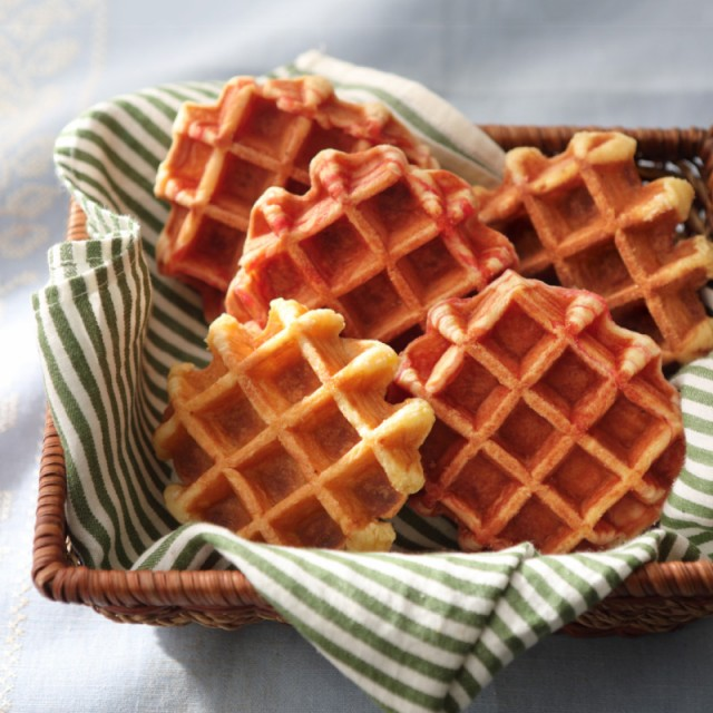 [天然酵母]コモパン『ワッフルセット(M)』2種12個入/お歳暮/メープル/苺みるく/菓子パン