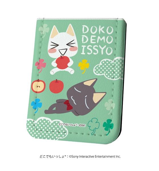 送料無料!どこでもいっしょ Design produced by Sanrio◆レザーフセンブック 付箋◆01/トロ&クロ 果物ver.◆新品◆
