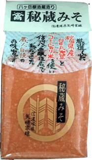 山高 「秘蔵みそ」 1kg 秋田県産白目丸大豆・コシヒカリ米・八ヶ岳天然水使用