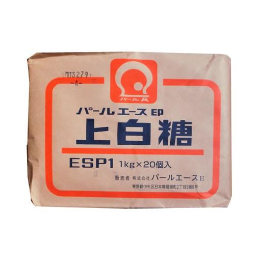 【事業所配送(個人宅不可)】 上白糖 1kg x 20袋 (メーカー指定不可)