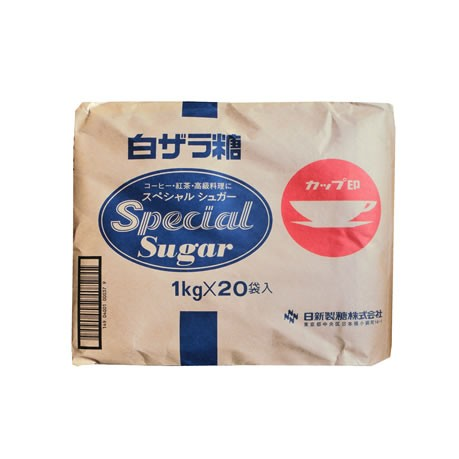 白ザラ糖 1kg x 20袋 (メーカー指定不可)