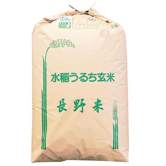 【無料精米】特別栽培米 玄米 令和元年産 長野県産 (伊那) コシヒカリ 1等 玄米 30kg (白米/無洗米加工/保存包装 選択可)