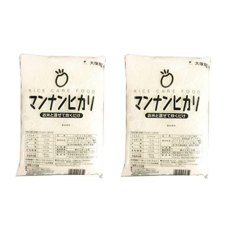 【事業所配送(個人宅不可)】 業務用マンナンヒカリ 1kg 2袋セット