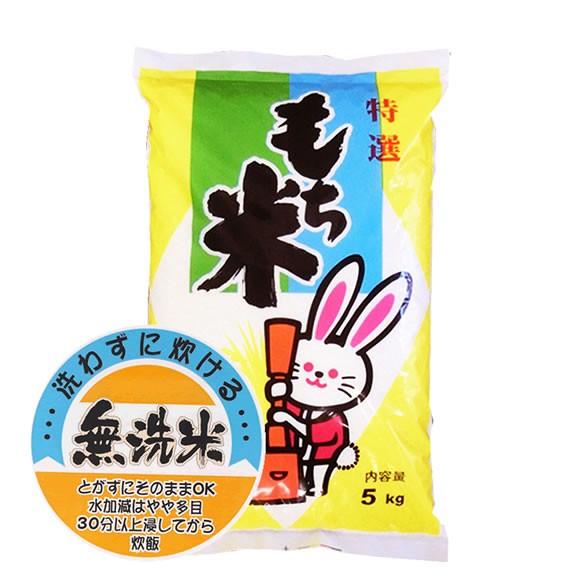 もち米フェア 無洗米 30年産山形県産ヒメノモチ 白米5kgx4袋 長期保存包装