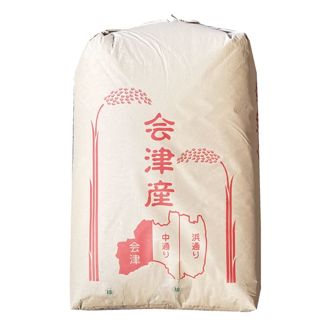 【事業所配送(個人宅不可)】 【無料精米】おいしい もち米 令和2年産 会津米 ヒメノモチ 1等 玄米 30kg (白米/無洗米加工/保存包装 選