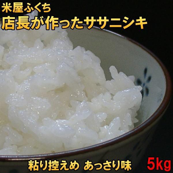 米 幻の米 送料無料 天日乾燥 令和2年産 米屋ふくち店長が作った ササニシキ 白米5kg 玄米もOK 天日干し お米アレルギー対策にも