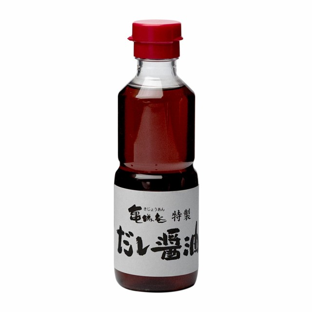 亀城庵特製・だし醤油200ml