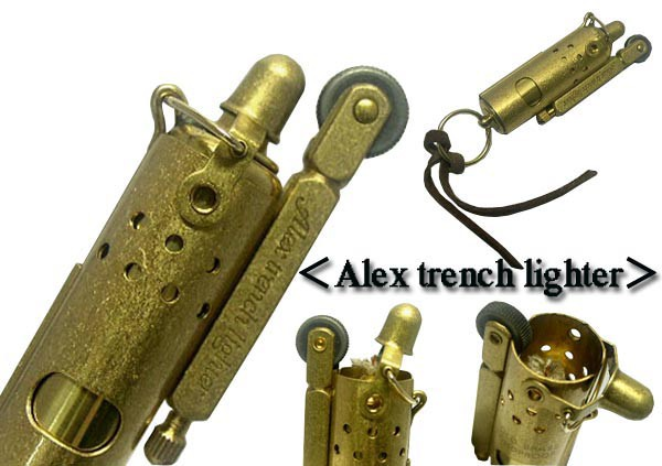 送料220円〜新品1920年IMCO IFAレプリカモデル トレンチ オイルライター(Alex Trench Lighter)真鍮(ブラスバレル)
