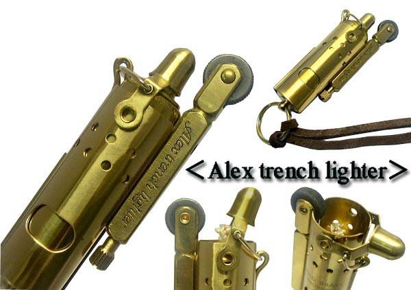 送料220円〜2017年11月発売!新品1920年IMCO IFAレプリカモデル トレンチ オイルライター(Alex Trench Lighter)真鍮(ブラス)