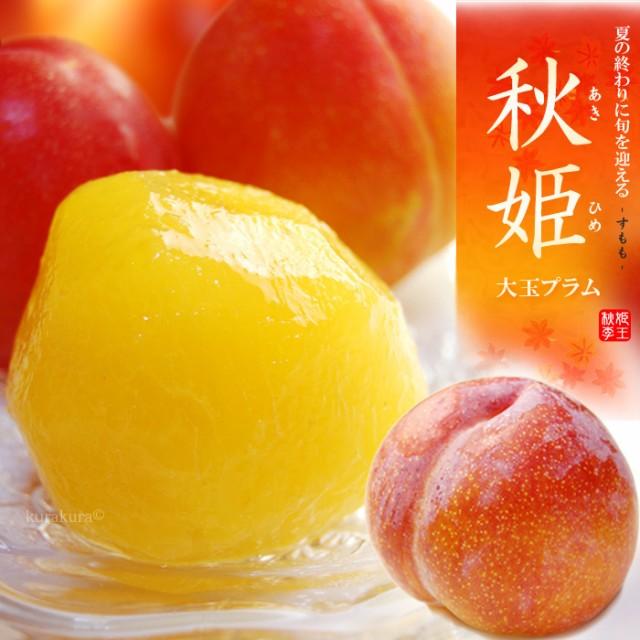 秋姫プラム(1.6kg前後)山梨産・山形産 ギフト 食品 フルーツ 果物 プラム すもも 送料無料