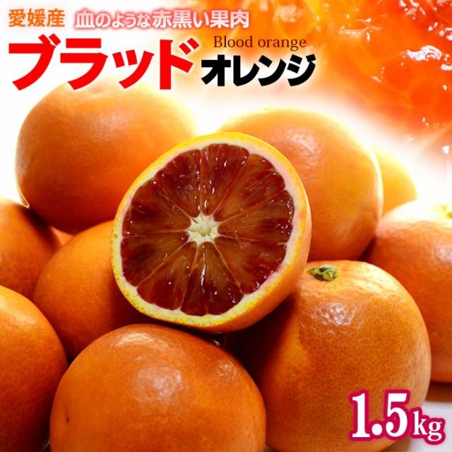 ブラッドオレンジ(L-2L/約1.5kg)愛媛産 秀品 タロッコ 食品 フルーツ 果物 オレンジ ブラッドオレンジ タロッコオレンジ 国産 送料無料