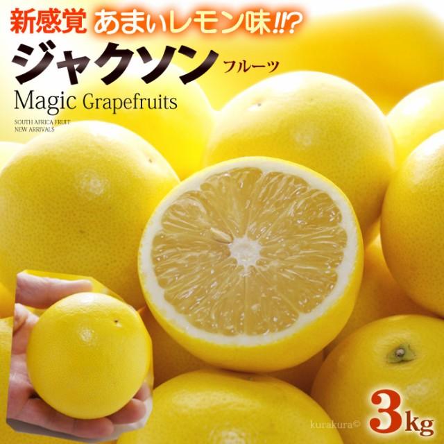 マジックグレープフルーツ ジャクソンフルーツ(14玉前後/約3kg)南アフリカ産 新種 グレープフルーツ 食品 フルーツ 果物 グレープフルー