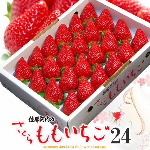 さくらももいちご(24粒/約700g)徳島県佐那河内産 ももいちご 桃 苺 桜 サクラ 贈答用 ギフト 桃苺 イチゴ フルーツ 果物 いちご 送料無料