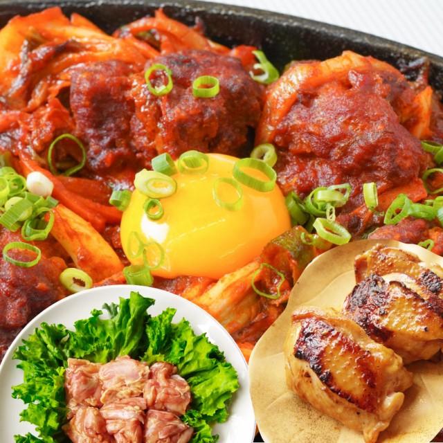ジューシー 鶏もも 焼肉 漬け 3種 食べ比べ セット( チーズダッカルビ 照り焼き 塩麹 ) 3kg (500g×6) オードブル パーティー big_dr