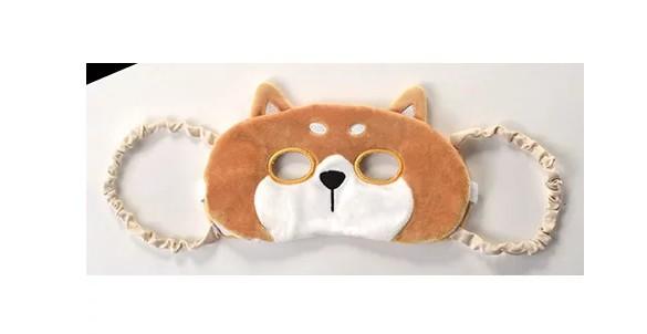 ながらHOT COOLアイピロー 柴犬 ホット クール アイマスク 疲れ目 冷え性 癒し 動物 かわいい 美容 健康 安眠