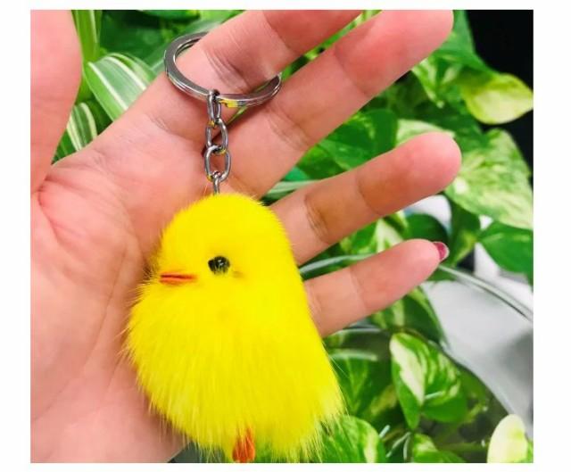 鳥キーホルダー ひよ子 ヒヨコ 携帯アクセサリー キーホルダー ストラップ かわいい