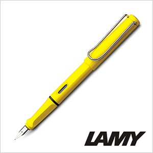 LAMY ラミー 万年筆 サファリ safari イエロー 極細 L18-EF