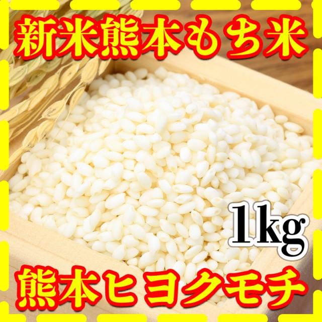 米 1kg 九州 熊本県産 ヒヨクモチ もち米 新米 令和2年産 精白米 くまもとのお米